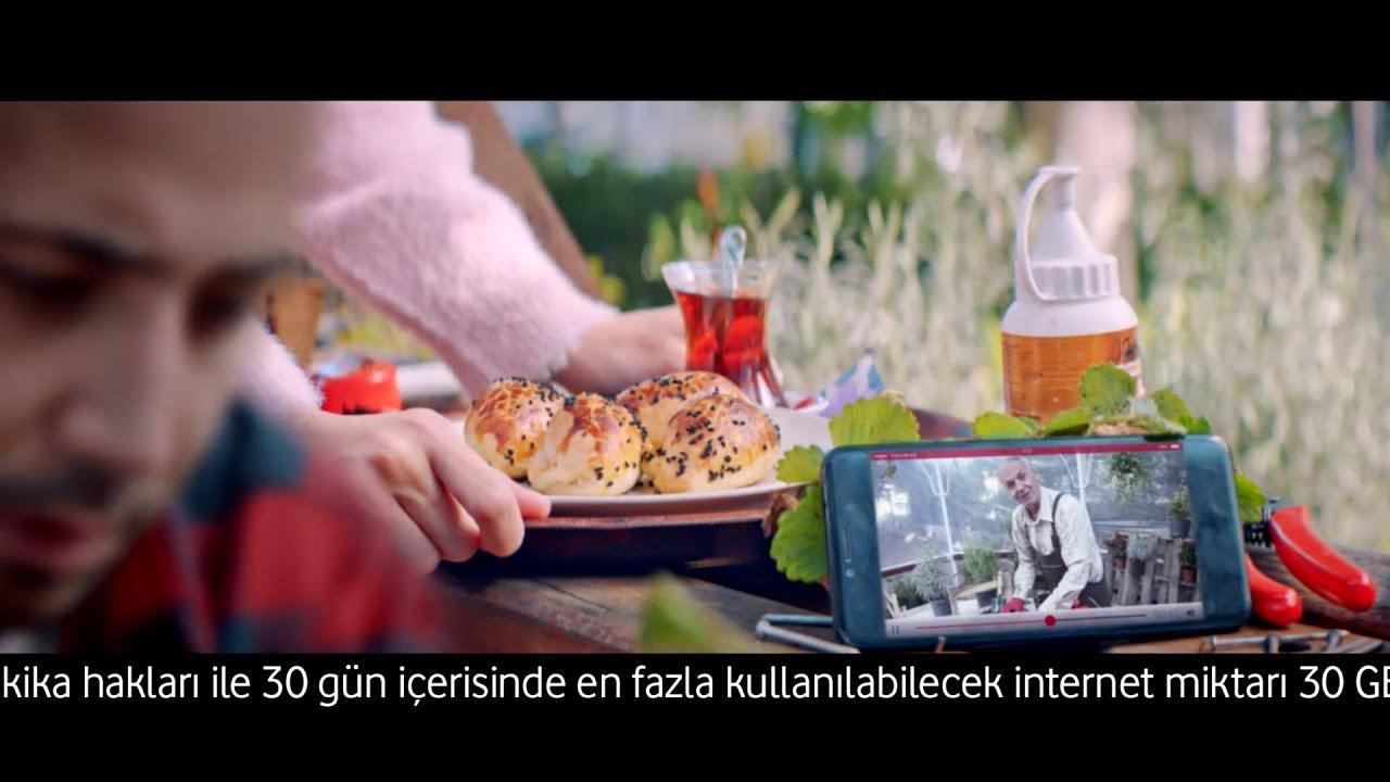 #GaniGani İnternete Girin Diye, Gani Tarife Vodafone'da.