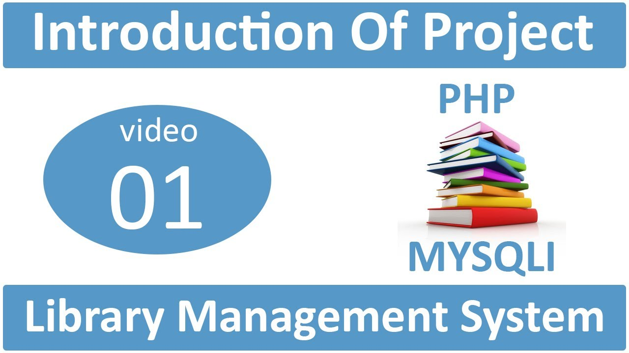 how to make library management system in php