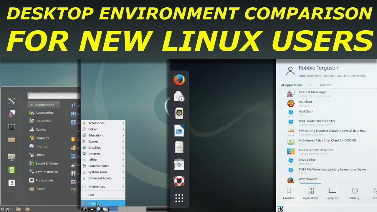 7 Best Desktop Environments For Linux