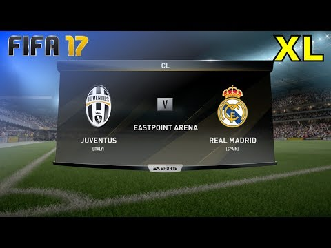 "FIFA 17 - Juventus vs. Real Madrid ""CL Final"" @ Eastpoint Arena (XL Match)"