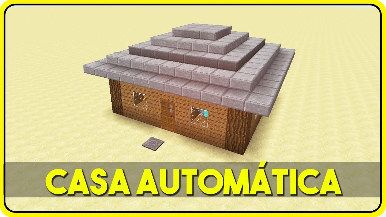 Minecraft A Menor Casa Autom Tica Do Mundo Casas C