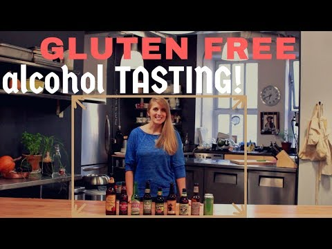 Gluten Free Alcohol Tasting GLUTEN FREE FOOD FILES: EP5