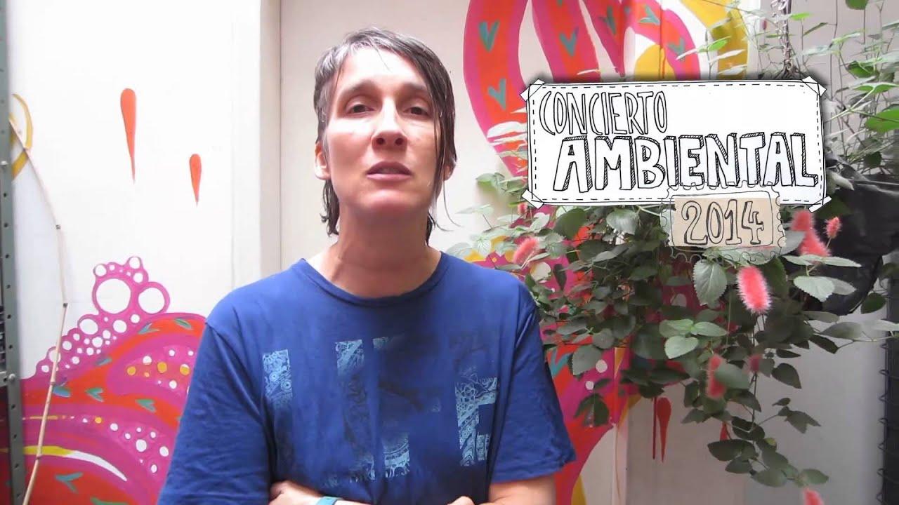 Andrea Echeverri: Andrea Echeverri Invita Al Concierto Ambiental 2014