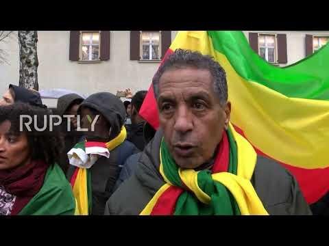 Germany: Hundreds protest Libya slave auctions