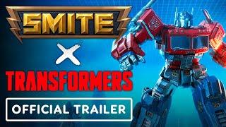 SMITE X Transformers - Official Reveal Trailer (Optimus Prime, Megatron, Starscream)