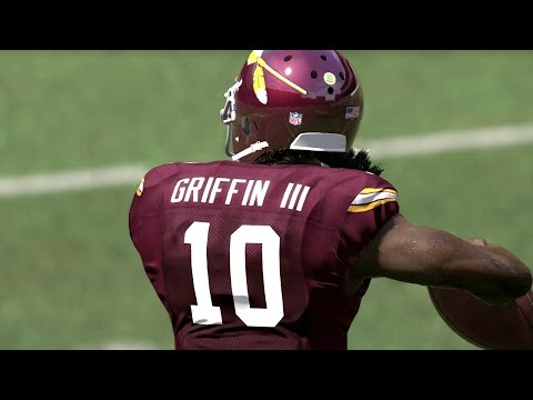 FLASHBACK Robert Griffin III CLUTCH RUNS IN BARN BURNER! Madden 17 Draft Champions Gameplay