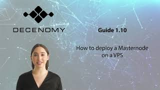 Guide 1.10 - How to deploy a Masternode on a VPS