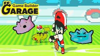 Game Builder Garage - Amazing Pokémon Game