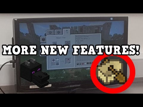 Minecraft Xbox One / PS4 TU46 NEW FEATURES Revealed