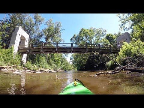 Menomonee River: Frontier Park To Jacobus Park, Wisconsin