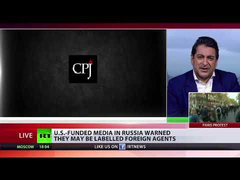 US-funded media in Russia warned they may be labelled foreign agents