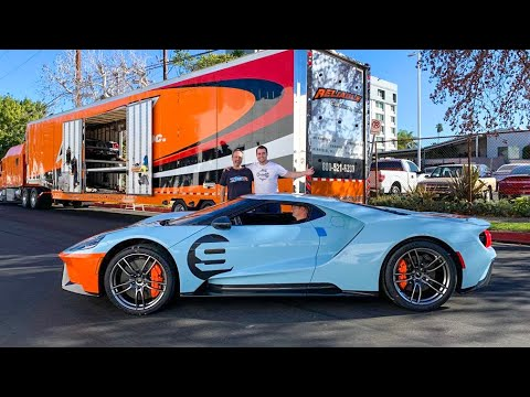 TAKING DELIVERY OF A NEW FORD GT!