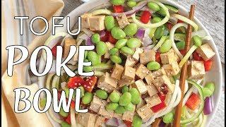 POKE BOWL | How to Make a Poke Bowl | Sesame Ginger Tofu Poke Bowl | VEGAN POKE BOWL| The Edgy Veg