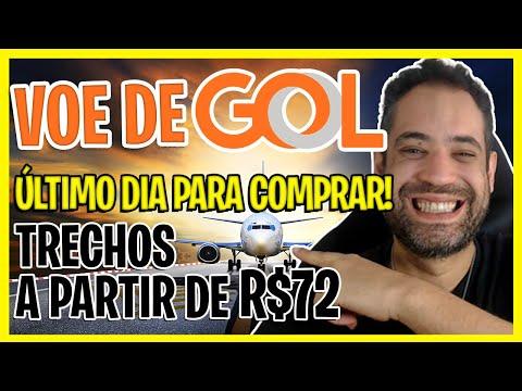 A PARTIR DE R$72! ÚLTIMO DIA! PASSAGENS AÉREAS GOL BARATAS 2021!