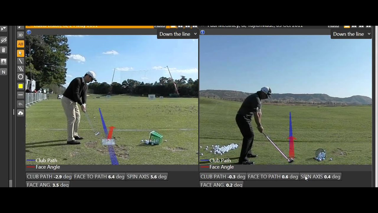 What Imparts Side Spin On A Golf Ball - YouTube