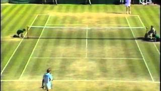Wimbeldon Finale der Herren 1990 - Boris Becker vs. Stefan Edberg