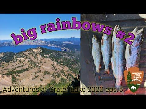 Big Rainbows #2 / Fishing At Crater Lake National Park.