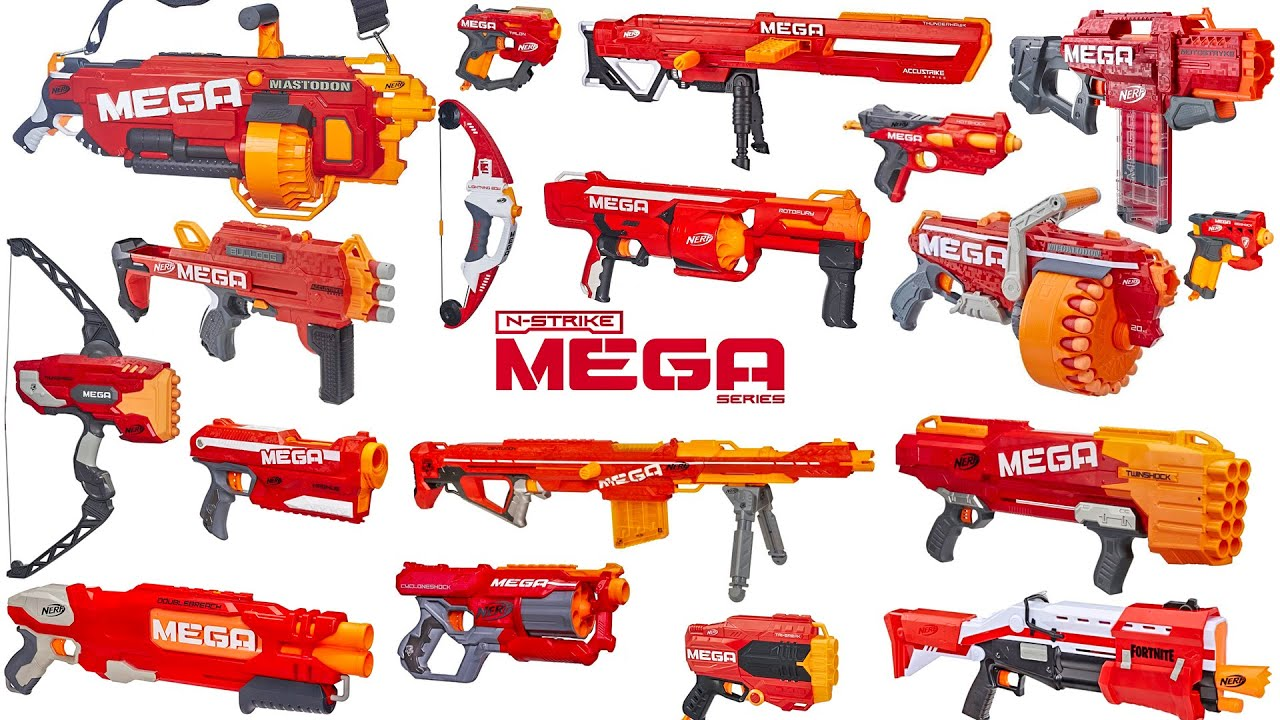 Download Nerf MEGA | Series Overview & Top Picks (2020 Updated)