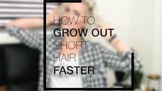 How to Grow Your Hair Out Faster