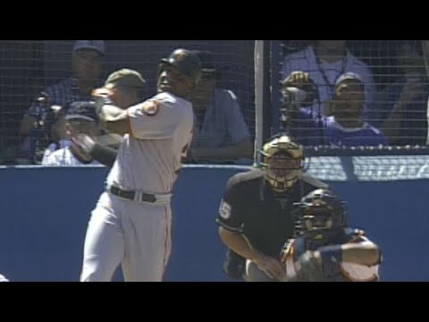 Barry Bonds Crushes His 65th And 66th Homers Of 2001