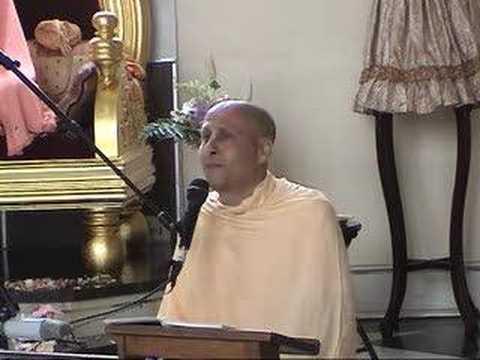 Radhanath Maharaj singing Hari Haraya Nama Krishna