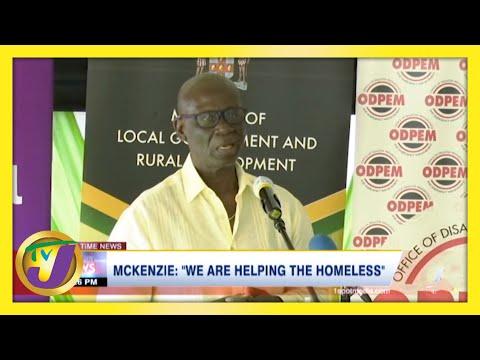 JLP Desmond Mckenzie: 'We are Helping the Homeless'   TVJ News