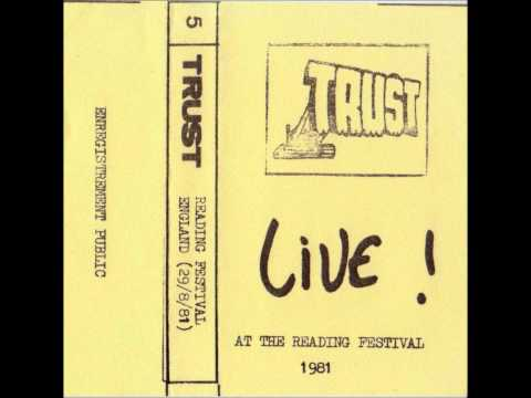 TRUST - 01.Death Instinct 02.Les Brutes (live at the Reading festival 1/3)