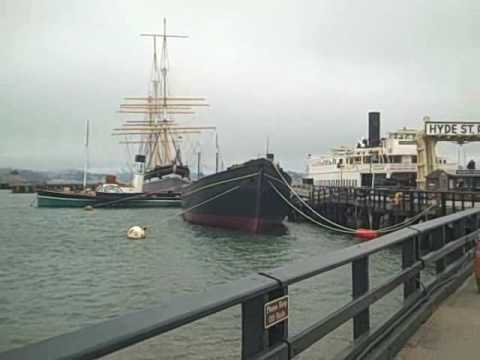 San Francisco Maritime National Historical Park: Hyde Street Pier