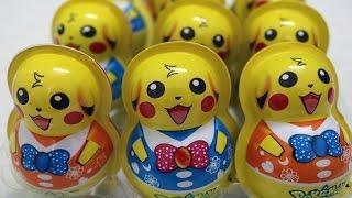 Bóc trứng đồ chơi Pikachu (pokemon go) - AnhAnhChannel