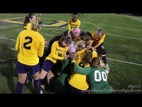 Franklin College Women's Soccer 2017 Conference Champs!