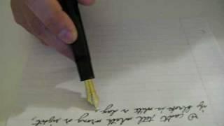 Writing Montblanc