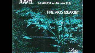 Fine Arts Quartet performs the 2nd movement of Ravel