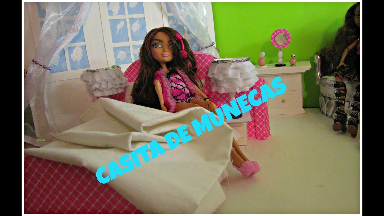 Como hacer una cama para munecas manualidades para - Como hacer cabezales de cama ...