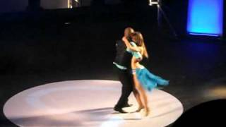 Видео: KIZOMBA CONGRESS - AFRICADANCAR 2010 - Albir & Sara - 2nd position