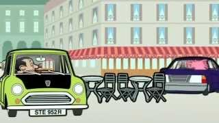 Mr Bean Cartoon   Art Thief HD