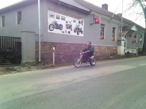 3063d3cb8ee moto kolo chopper 80 Blue - YouTube