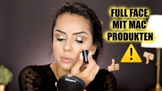 Full Face using MAC only!! I Neue Produkte und Favoriten von MAC im Test! Tamtam Beauty