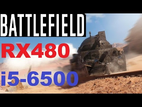 Battlefield 1 RX480 | i5-6500 | DX12 Gameplay
