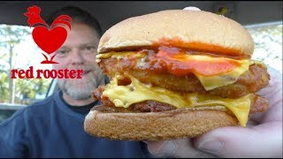 Red Rooster Double Parmi Burger Review