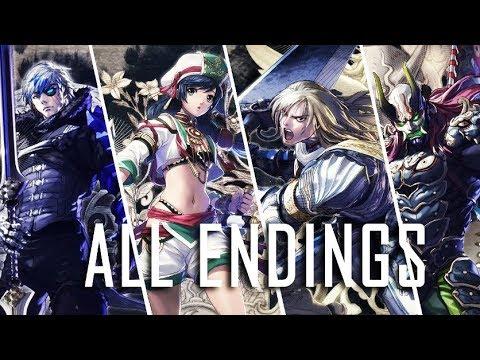 SOUL CALIBUR 6 All Character Endings