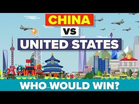 China vs United States (USA) - military comparison -2017