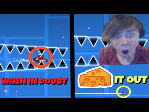 """""""When in doubt, Cheese it out."""" - CC Challenges P.28 
