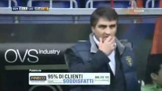 Gol di Di Michele (Genoa-Lecce 23 4 11)