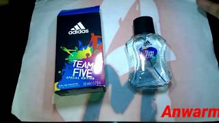 Adidas Team Five Mens Fragrance (Review)