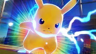Pokken Tournament ALL CHARACTERS BURST ATTACKS (Pokemon Specials) + Shadow Mewtwo