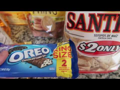 Snack Grocery Haul: Walmart (March 2017)