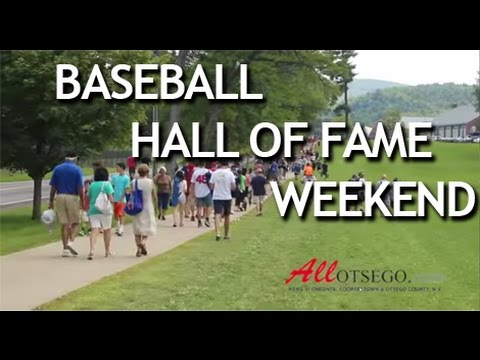 COOPERSTOWN - National Baseball Hall of Fame Induction Weekend Recap