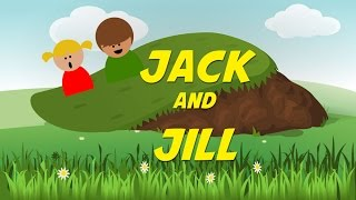 Jack and Jill (instrumental nursery rhyme - lyrics video for karaoke)