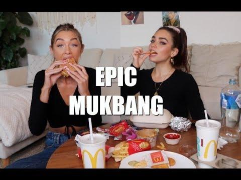 MCDONALDS + MEXICAN FOOD MUKBANG Ft. Cartia Mallan
