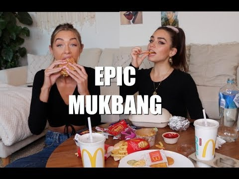 MCDONALDS + MEXICAN FOOD MUKBANG Ft. Cartia Mallan